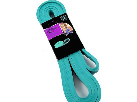 Elastische weerstandsband - Fitness elastiek- elastische weerstandsband - Sports elastische weerstandsband 15 kg Groen -