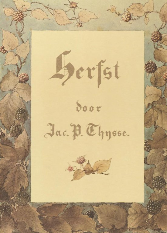 VERKADE ALBUM HERFST - Thijssen pdf epub