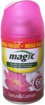 Magic, navulling automatische spray, Lotus & Cotton, 300ml