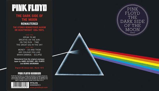 The Dark Side of the Moon (LP)