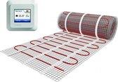 e-Heat Mat - Set 10 m² / 1500 Watt, Elektrische Vloerverwarming