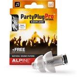 Alpine PartyPlug Pro Natural - Muziek oordoppen - Transparant - SNR 21 dB - 1 paar