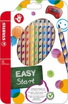 STABILO EASYcolors Rechtshandige Kleurpotloden - Etui 12 Stuks