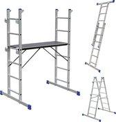 Multifunctionele ladder, trap en steiger - Allround - Alumexx