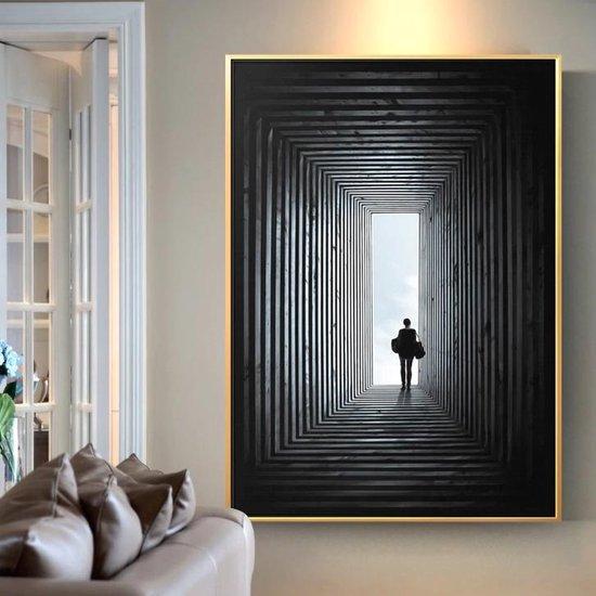 Bol Com Allernieuwste Canvas Schilderij Eindelijk Kunst Xl Woonkamer Poster 70 X 100 Cm
