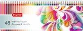 Bruynzeel Paisley blik 45 kleurpotloden