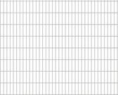 vidaXL Dubbelstaafmatten 2008 x 1630mm 30m Zilver 15 stuks