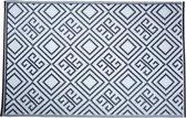 Esschert Design Vloerkleed - 120x180 cm - Zwart Wit