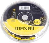 Maxell CD-R 700MB 80min XL 52x Spindle 10pk 700MB 10stuk(s)