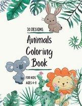 Animals Coloring Book: Animals Coloring Book for Kids