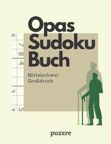Opas Sudoku Buch Mittelschwer Grossdruck