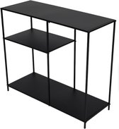 Metalen Wandkast - 78 x 30 x 68 cm - Metal Wall Cabinet - Zwart
