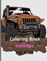 Coloring Book Vehicles For Kids