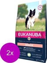 Eukanuba Mature Senior Lam&Rijst - Hondenvoer - 2 x 2.5 kg