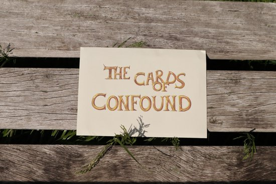 The Cards of Confound - Mysterieuze Puzzelkaarten (English)