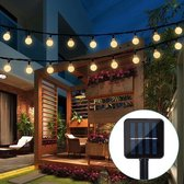 Lichtsnoer - Tuinverlichting Led Buiten - Zonne-energie - 10M - 100 LED - Waterdicht - Lichtsnoer Buiten - Extra Lang - Lichtslinger - Sfeerverlichting - Buitenverlichting