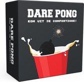 Dare Pong - Bierpong Spel - Bierpong - Drankspel - Kaartspel - Waterbestendig - Officieel spel - Nederlandstalig - Beer pong