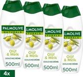 Palmolive Naturals Olijf Douchegel - 4 x 500ml  - Voordeelverpakking