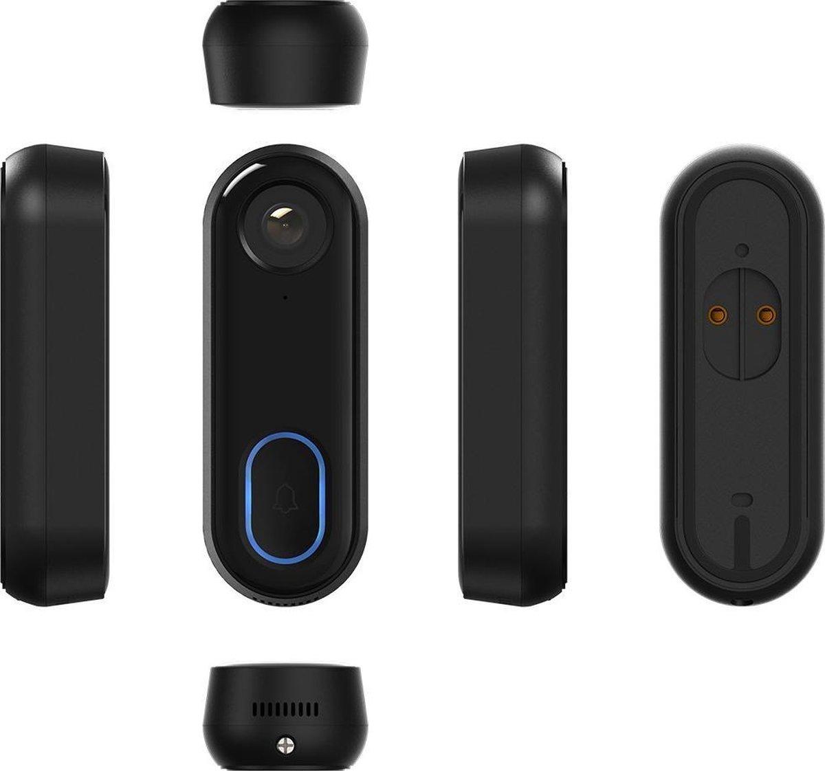 Calex Smart Deurbel met Camera - WiFi Videodeurbel - HD - 1080p