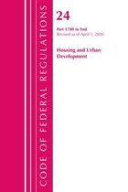Code of Federal Regulations, Title 24 Housing and Urban Development 1700-End, Revised as of April 1, 2020