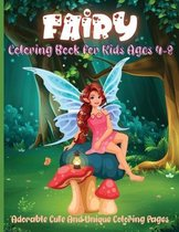Fairy Coloring Book For Kids Ages 4-8