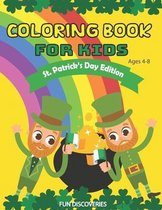 St. Patrick's Day Coloring Book For Kids Ages 4-8