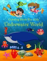 Coloring Book For Kids Underwater World