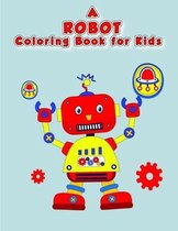A Robot Coloring Book For Kids
