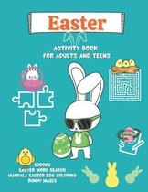 Easter Activity Book for Adults and Teens