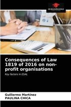 Consequences of Law 1819 of 2016 on non-profit organisations
