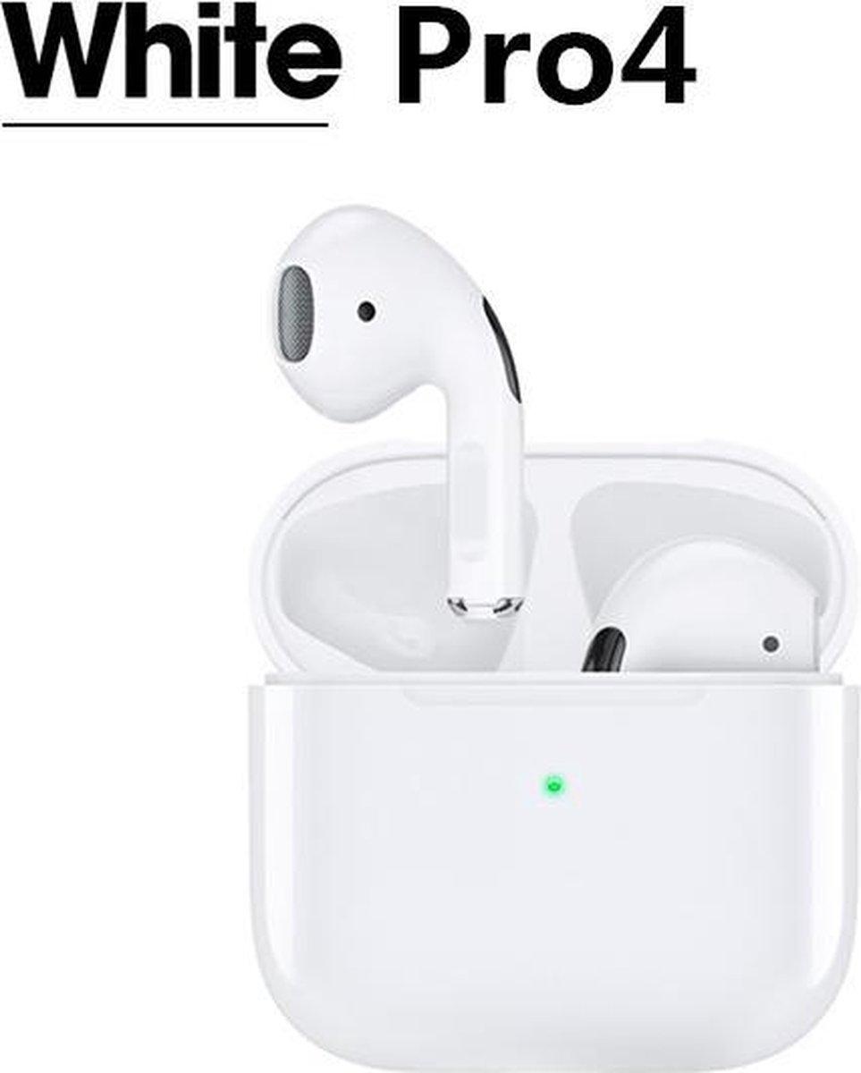 ZORIX -Pro4 draadloze oordopjes met oplaaddoos, muziekhoofdtelefoon met dynamisch high-definitief ge