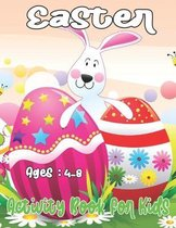 Easter Activity Book For Kids