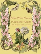 Bible Word Search Puzzles for Adults, 100 Puzzles with Answers
