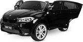 BMW elektrische kinderauto - X6M - 2-zits - Zwart - EVA banden