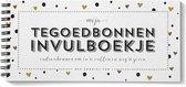 Tegoedbonnen boekje invulbaar algemeen blanco luxe parelmoer waardecheque coupon waardebon cadeaubonnen invulboekje
