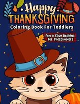 Happy Thanksgiving Coloring Book
