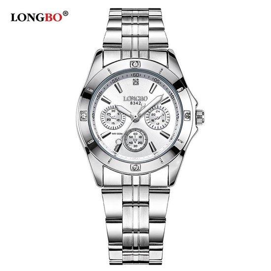 Longbo – Dames Horloge – Zilver/Zilver – Ø 29mm