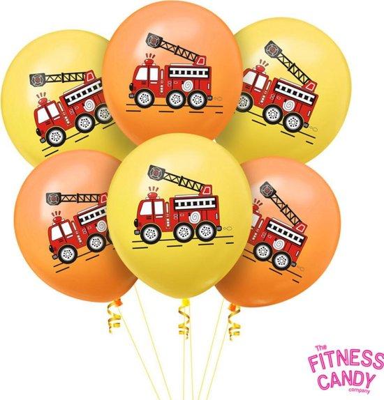 Brandweer Ballonnen - Set van 6