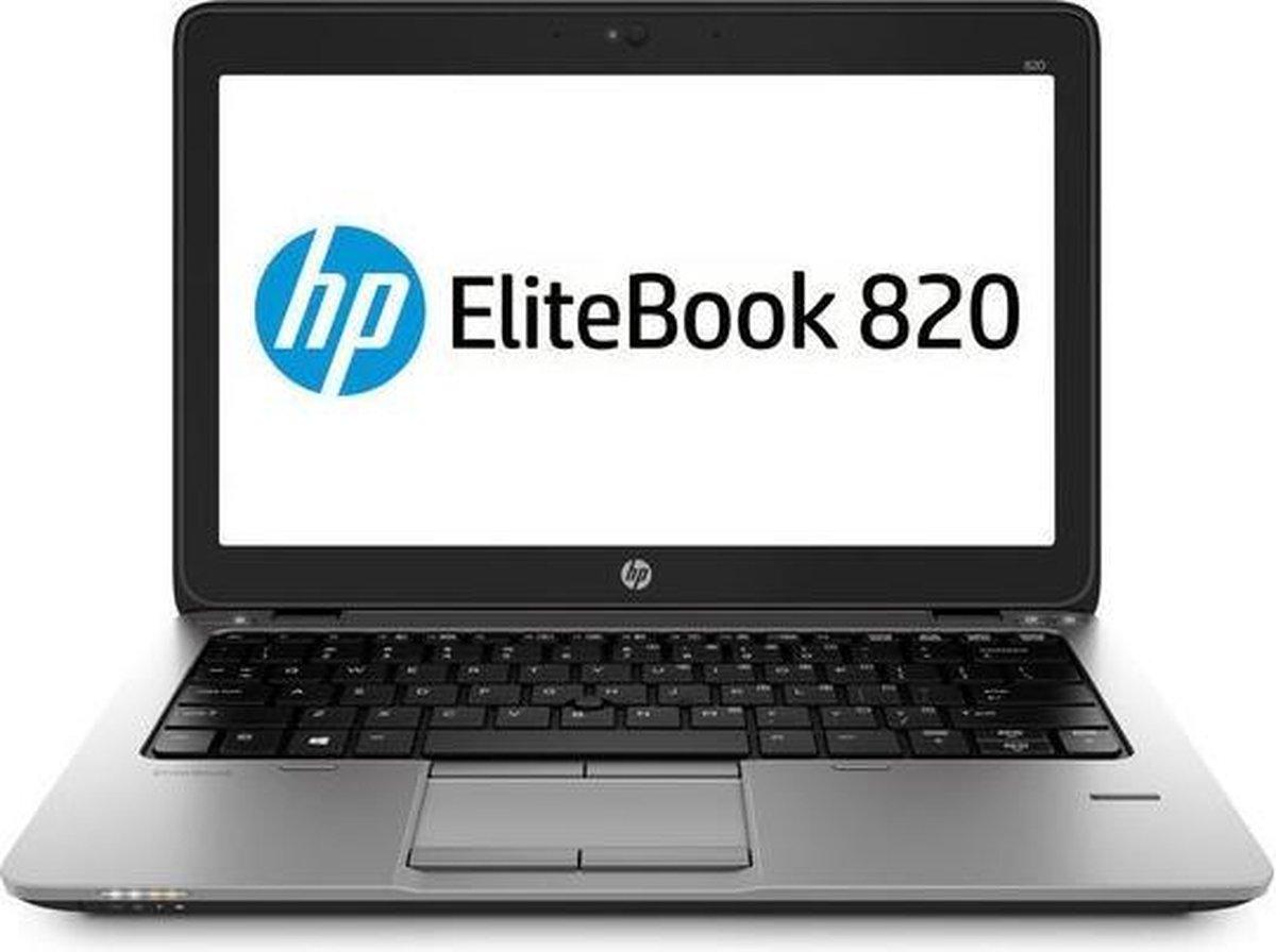 """HP Elitebook 820 G2 12,5"""" FHD 8GB RAM, 128GB SSD & i5-5300U - Refurbished door Daans Magazijn - A-grade"""