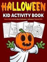 Halloween Kid Activity Book: Dover Little Activity Book Halloween