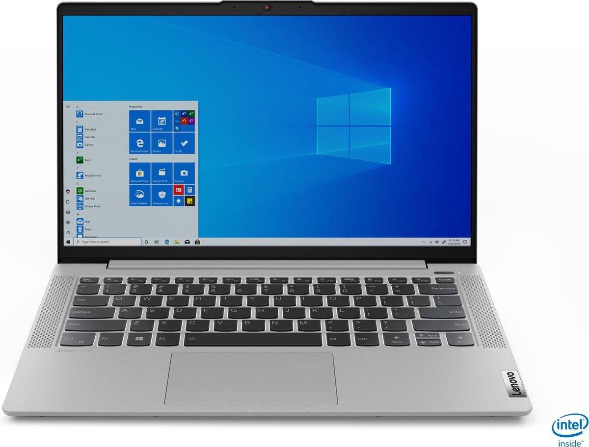 Lenovo Ideapad 5 14IIL05 14 inch Full HD / i7-1065G7 / 8GB DDR4 / 512GB M.2 SSD / Windows 10 Pro