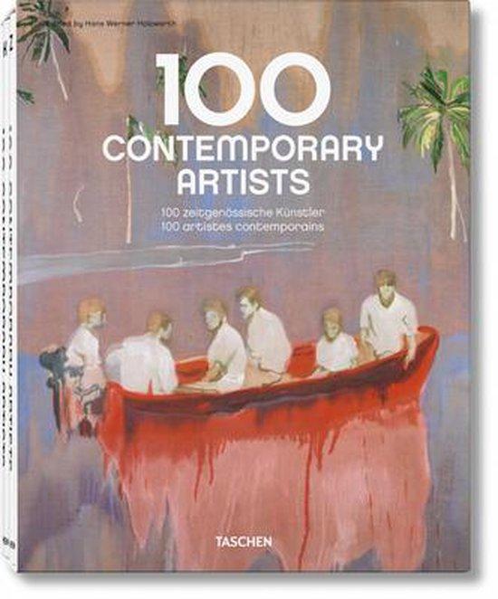 Cover van het boek '100 Contemporary Artists' van  *