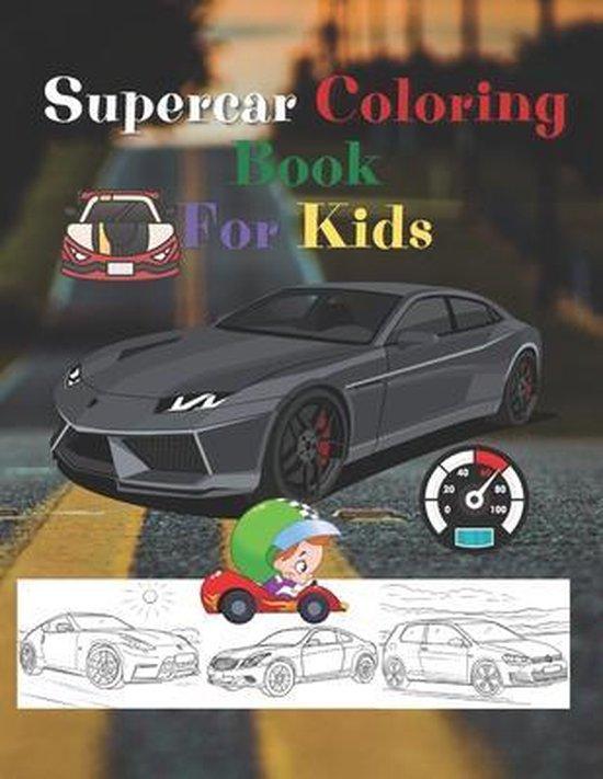 Super Car Coloring Book For Kids