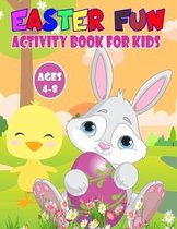 Easter Fun Activity Book For Kids Ages 4-8