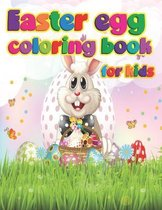 Easter egg coloring book for kids