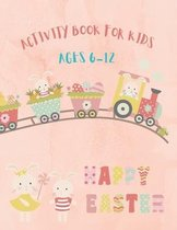 Easter Activity Book for Kids Ages 6-12