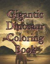 Gigantic Dinosaur Coloring Book