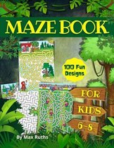Maze book for kids 6-8