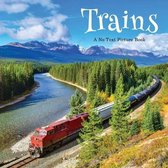Trains, A No Text Picture Book: A Calming Gift for Alzheimer Patients and Senior Citizens Living With Dementia