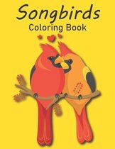 Songbirds Coloring Book